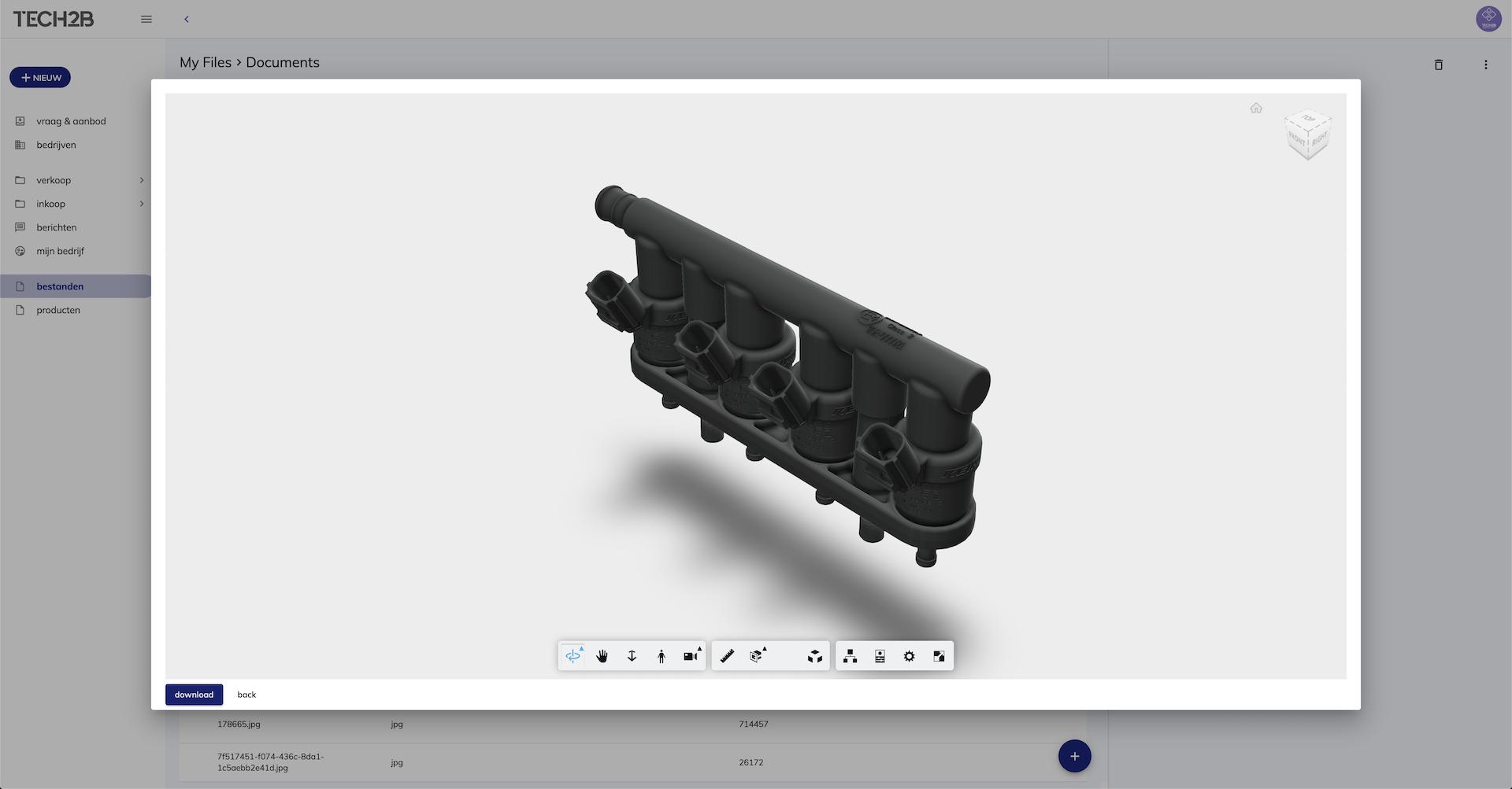 Autodesk Viewer - 3D Files - Integratie autodesk