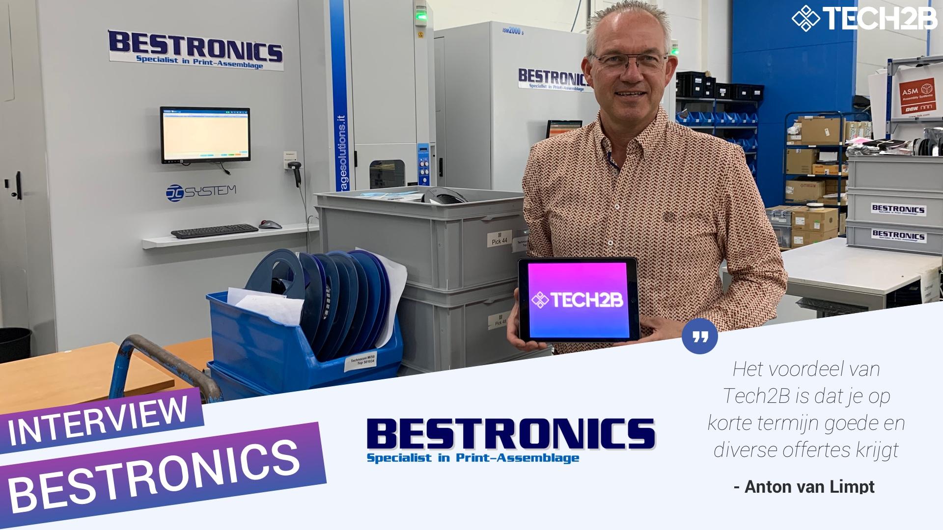 Anton van Limpt - Bestronics - Succesformule Tech2B - Supply Chain - Inkoopplatform