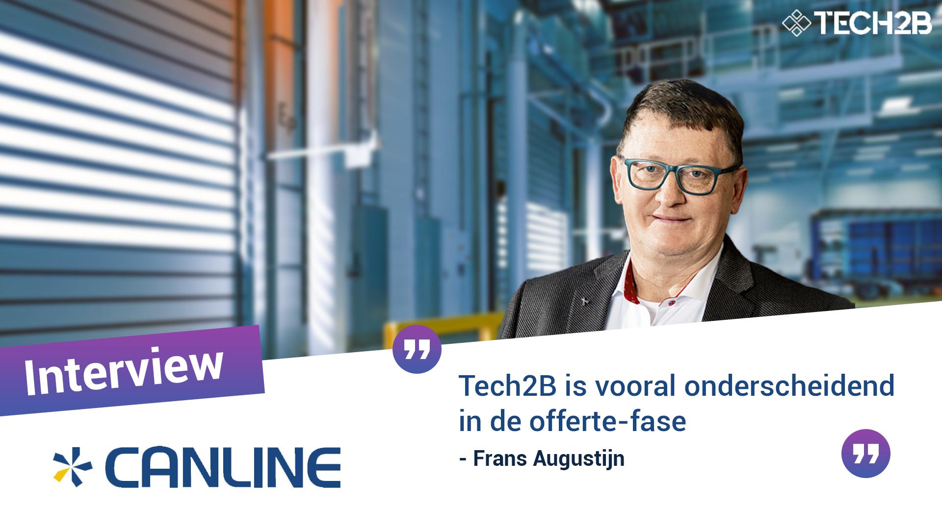 Canline - Frans Augustijn - Offertefase - Tech2B